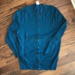 JCrew blue Jackie cardigan for sale